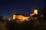 Schloss Tirol bei Nacht