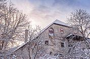 Winterliche Koburg in Gufidaun