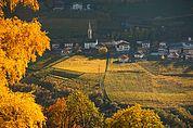 Karneid im Herbst