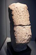 Römischer Stein im Museum Meran