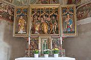 Altar der Kirche St. Nikolaus in Klerant