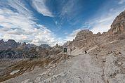 Am Paternsattel, 2454 m