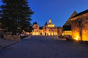 Abendstimmung im Kloster Neustift