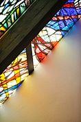 Fenster der Kirche in Kortsch