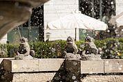 Am Froschbrunnen in Bozen