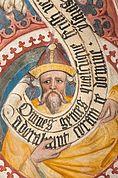 Prophet im Kreuzgang des Brixner Doms
