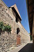 An der Stadtmauer in Glurns