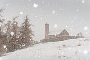 St. Veith im Schneetreiben