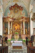 Chor der Wallfahrtskirche Riffian