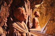 Tanna - Tonskulptur im Messner Mountain Museum