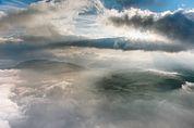 Wolkenstimmung über der Seiser Alm