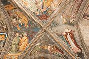 Fresken der 12. Arkade im Kreuzgang Brixen