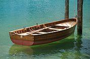 Boot am Pragser Wildsee