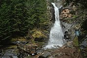 Der Wasserfall in Barbian