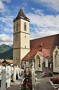 Die Pfarrkirche Kortsch