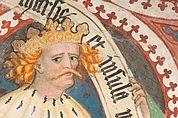 Karl der Große im Kreuzgang des Brixner Doms