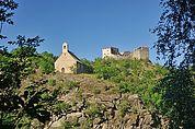St. Stefan und Burg Obermontani
