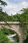 Passerbrücke und Zenoburg