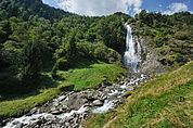 Landschaft am Partschinser Wasserfall