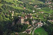 Schloss Tirol von oben