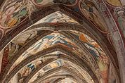Freskenbemalter Kreuzgang Brixen