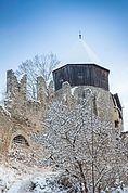 Hexenturm und Schlossmauer Summersberg