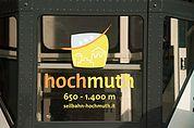 Seilbahn Hochmuth