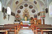 In der Wallfahrtskirche St. Martin im Kofel
