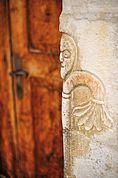 Romanische Portalfigur