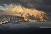 Latemar in den Wolken