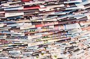 Zeitungsinstallation